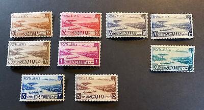 Somalia Sc# C17-22, 24-26 Partial Set Mint Hinged MH