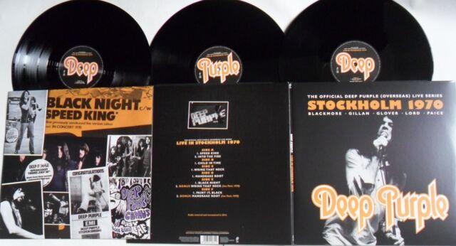LP DEEP PURPLE Stockholm 1970 (3LP) EAR MUSIC 0209811ERE - STILL SEALED