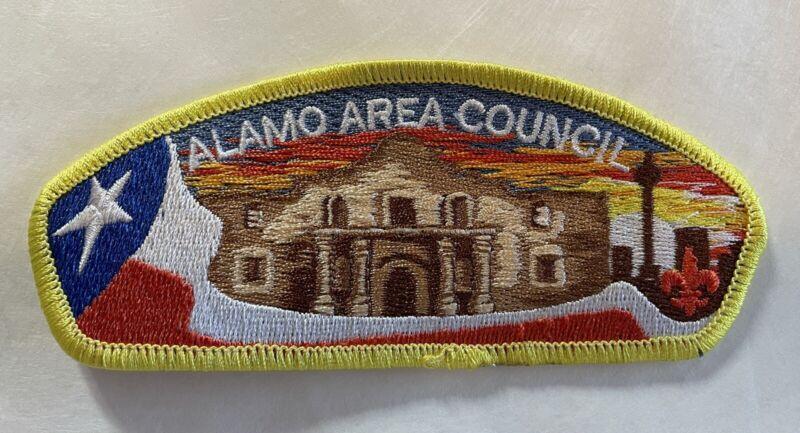 Alamo Area Council Texas Boy Scout BSA CSP Council Shoulder Patch Flag Skyline