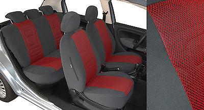 Autositzbezüge Toyota Verso Maßgefertigte Velours Sitzbezüge VGG1