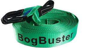 BOGBUSTER WINCH EXTENSION STRAP RECOVERY OFF ROAD 4X4 SNATCH 20 M Beldon Joondalup Area Preview
