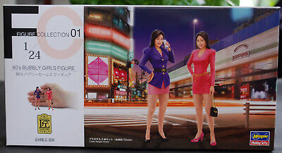 29101 Hasegawa 80´s Bubbly Girls Figures 2 Mädels 80er Jahre1:24