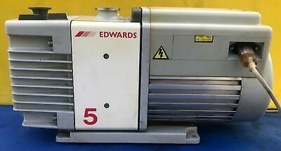Edwards Rv5 Rotary Vane Vacuum Pump Watch Video Free Shipping