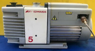 Edwards Rv5 Rotary Vane Vacuum Pump Watch Video Free Shipping