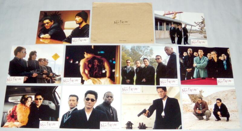 BROTHER ブラザー  Takeshi Kitano 北野 武  Omar Epps yakuzas ヤクザ 10 FRENCH LOBBY CARDs