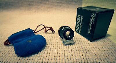 Voigtlander 21mm (+ 25mm)  Metal Black -
