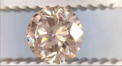 CHAMPAGNE DIAMOND GEM ROUND CUT AFRICAN GENUINE COLORED NATURAL MINI FACETED 2mm