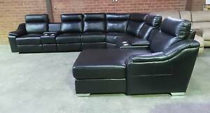 LARGE CORNER MODULAR WITH ELECTRIC RECLINER  AND RH CHAISE Thebarton West Torrens Area Preview