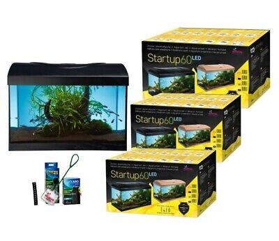 Diversa Aquarium Set StartUp LED komplett inkl. Abdeckung, Filter, Heizer