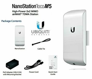 Ubiquiti NanoStation loco M5, New, Free Shipping