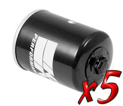 5 Pack: Oil Filters Pro Series Powersports Canister K&N KN-198 - For Victory MC