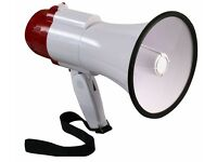 PULSE MP20, COMPACT FOLDING LOUD 20 WATT PA MEGAPHONE