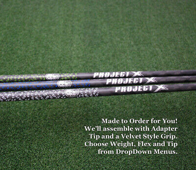 Project X HAND CRAFTED LZ Loading Zone Driver/Fairway Shaft w/Tip&Grip NEW