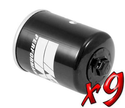 9 Pack: Oil Filters Pro Series Powersports Canister K&N KN-198 - For Victory MC