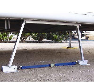 RV Motorhome Stabilizer Adjustable Height Camper Trailer Jack Coupler Toy Hauler