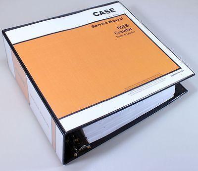 CASE 850B CRAWLER DOZER + LOADER SERVICE TECHNICAL