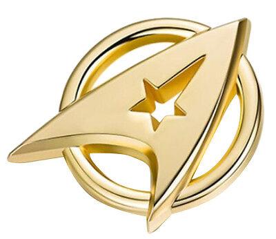 (Star Trek: Beyond Starfleet Communicator Badge Metal Brooch Badge SHIPS FAST)