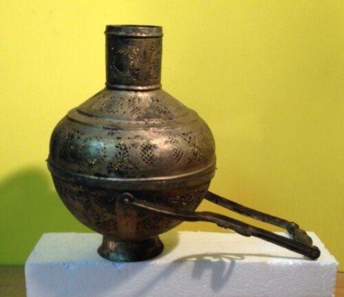 Beautiful  Antique Vintage Brass Vase/Lantern