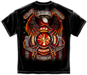 9-11-MEMORIAL-Shirt-Firefighter-T-SHIRT-343-True-Hero-Shirt-In-Memory-911-FF2081