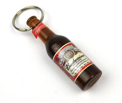 Budweiser Cerveza Ee.uu. Mini Botella Abrebotellas Abrelatas Abridor Miniatura