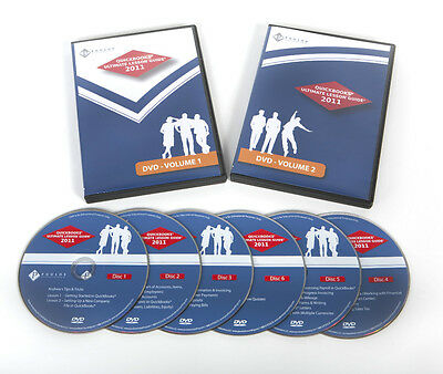 2 Disc Intuit Quickbooks Ultimate Lesson Guide Dvd Training Tutorial