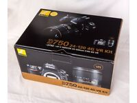 Nikon D750 Digital SLR (Body Only) **BRAND NEW** **UNOPENED IN BOX** WITH 3 YEARS NIKON WARRANTY!