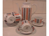 Coffee set - Piccadilly Stylish Tableware midwinter England