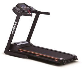 New Treadmill motorised incline 15 Programmes 6 big shock Spring Running Board. 12 month warranty