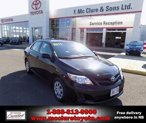 2011 Toyota Corolla LOW MILEAGE