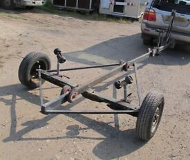 BOAT TRAILER PROJECT WITH ROLLERS FOR ANY BOAT UP TO 4+ METRES