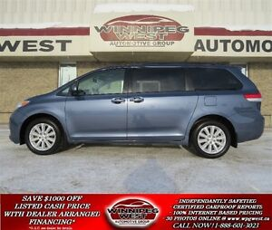 2014 Toyota Sienna LE, ALL-WHEEL-DRIVE, 7 PASSENGER, LOADED, LOC