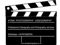 Professional Videography, Photography Services
