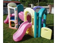 """Little Tykes """"Playground"""" Outdoor play house with slides .Excellent Condition. Ideal for Summer Fun"""