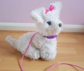 Furreal Friends Gogo My Walking Pup Puppy Dog Lead Sounds Electronic Pet Hasbro