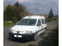2006 Peugeot Expert E7 Taxi Wheelchair Accessible M1 Spec
