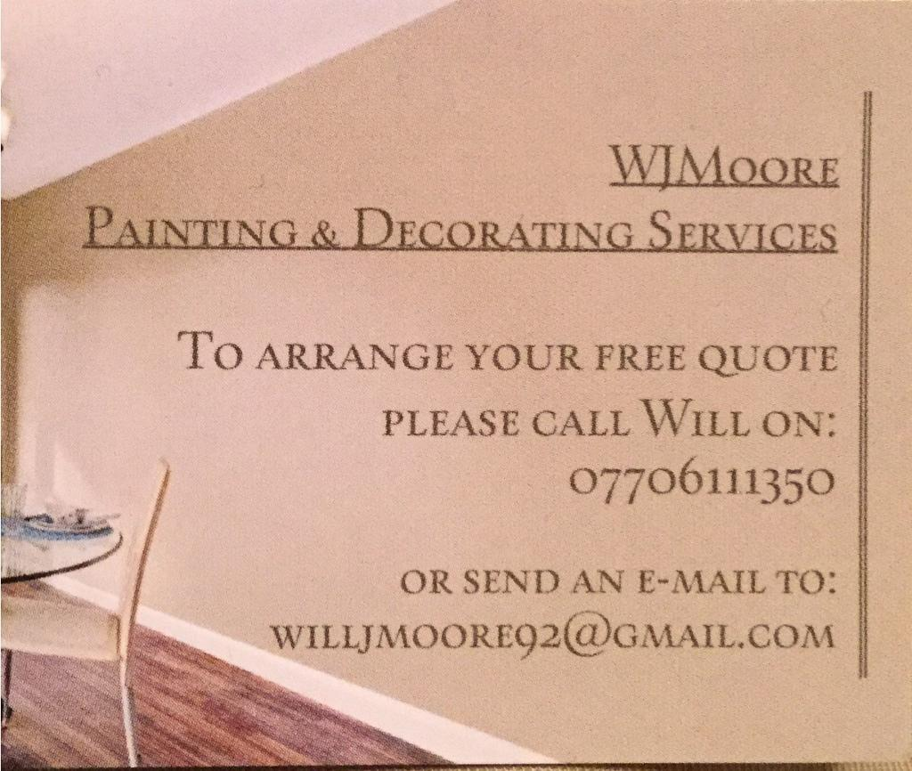 Painter Decorator In York North Yorkshire Gumtree