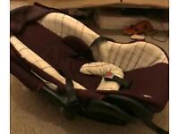 Baby car seat rear facing