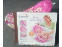 Summer Deluxe Bather (pink circle daisy)