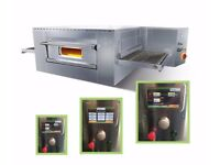 Free Installation Brand NEW Italian electric Conveyor Belt pizza oven ventilated digital interface