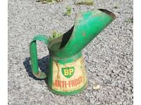 Vintage BP Anti Frost filler can