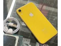iPhone XR 64GB Unlocked Yellow Excellent Condition