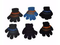 120 Children Gloves, Wholesale, Job Lot 3-5 years old for girls and boys