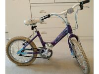Raleigh Starz Girls Bike 16in