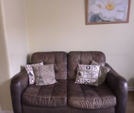 Leather sofas for free