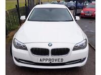 BMW 5 SERIES 2.0 520D SE 4d AUTO 181 BHP AUTOMATIC LUXURY Apply (white) 2013