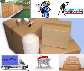 The services we offer Handyman , Painting and decorating , Fencing , Turfing , Removal .