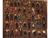 WWE/ WWF lot of Wrestling Figures (148) + Extras