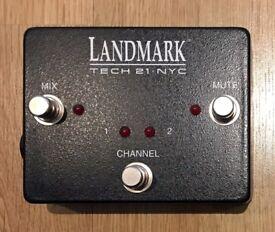 Tech 21 Landmark 600 Footswitch, new