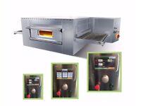 Italian electric Conveyor Belt pizza oven ventilated static touchscreen digital interface Warranty