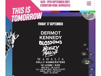This is tomorrow Friday 17th September tickets x 2